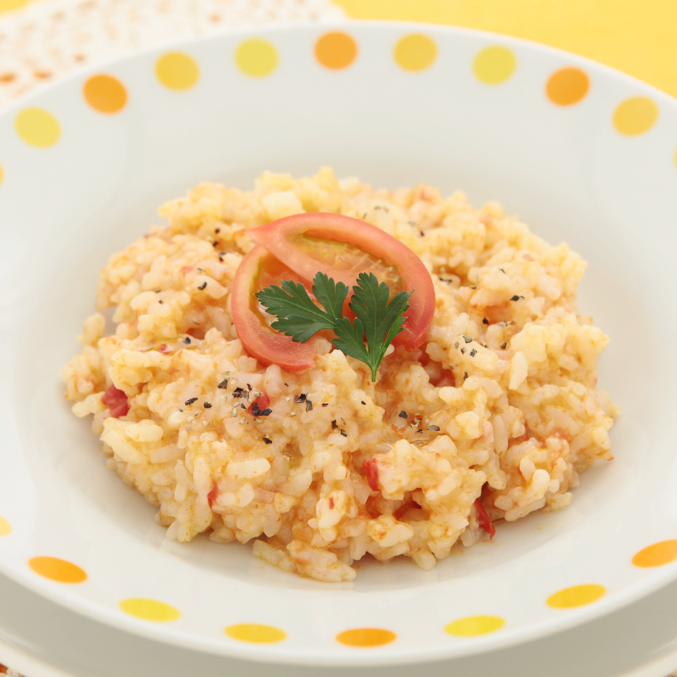 炊飯器で作るアメーラトマトリゾット